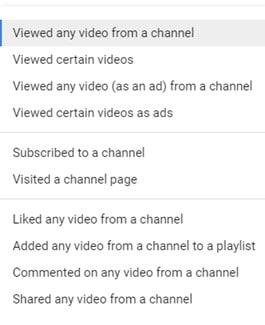 רשימות רימרקטינג ביוטיוב